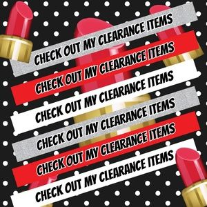 💄💄Clearance items💄💄5 for $25
